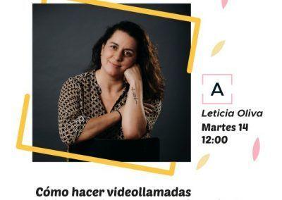 ¿Cómo hacer videollamadas divinas? con Leticia Oliva Lekue