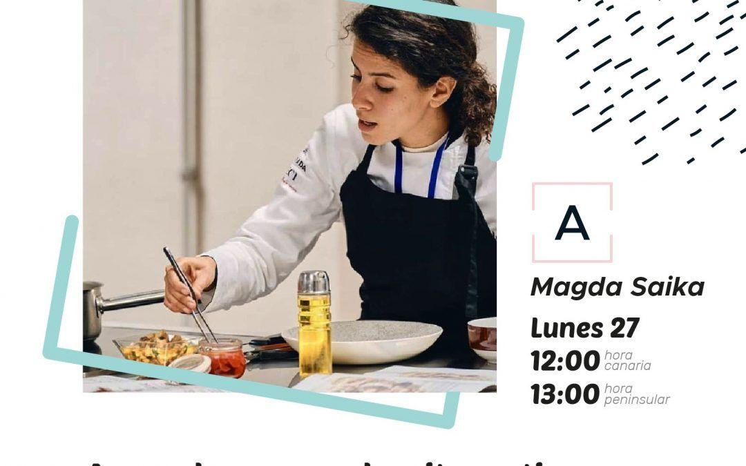 «¿Cómo iniciarse en la alimentación consciente?» con Magda Saika